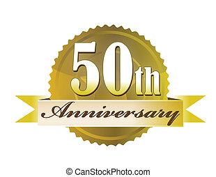 50th, zeehondje, jubileum
