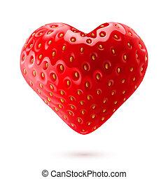 aardbei, hart