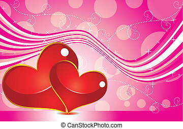 abstract, achtergrond, valentijn