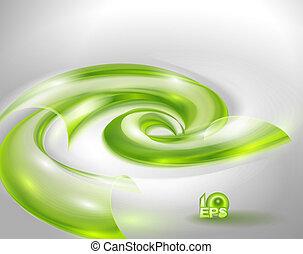 abstract, groene achtergrond, swir
