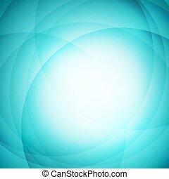 abstract, groene, cirkel, achtergrond