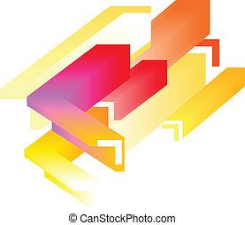 abstract, -, kleurrijke, achtergrond, 3