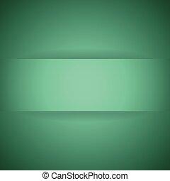 abstract, papier, groene, schaduw, achtergrond