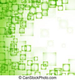 abstract, pleinen, groene achtergrond
