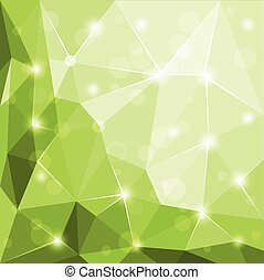 abstract, polygonal, facet, geometrisch