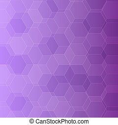 abstract, viooltje, achtergrond, zeshoeken