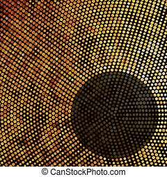 achtergrond., abstract, eps, mozaïek, 8