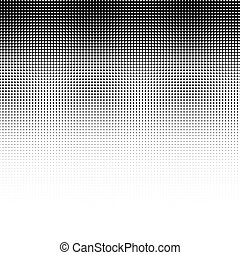 achtergrond., black , dotted, abstract, halftone