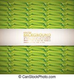 achtergrond, linten, groene samenvatting