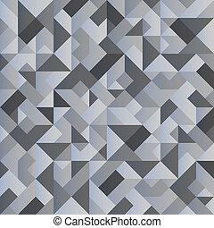 achtergrond, monochroom, geometrisch