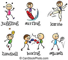anders, zes, sporten