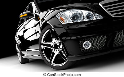 auto, black