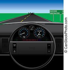 auto, dashboard