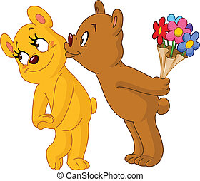 beren, hartelijk