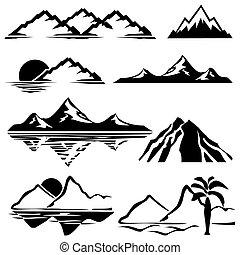 bergen, iconen