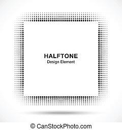 black , abstract, halftone, ontwerpen basis