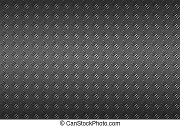 black , metaal, seamless, achtergrond.