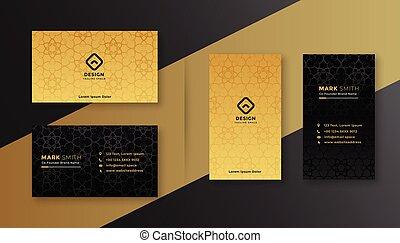 black , zakelijk, luxe, gouden kaart, koninklijk, mal, ontwerp