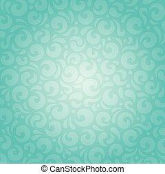 blauw groen, retro, achtergrond