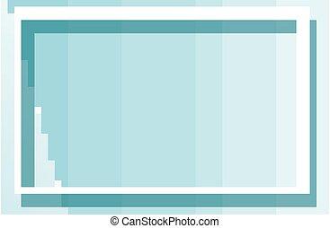 blauw vierkant, frame, achtergrond