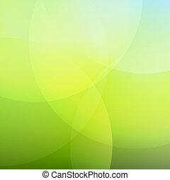 blauwe , lijn, groene achtergrond