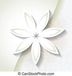 bloem, achtergrond, minimalistic