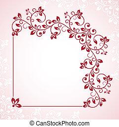 bloem, frame.