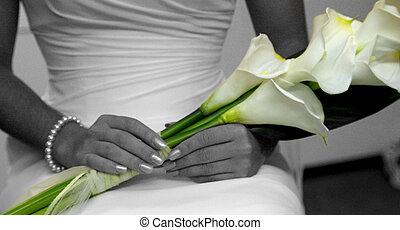 bloemen, trouwfeest