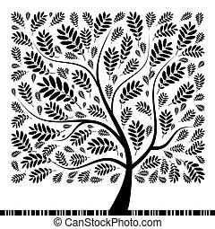 boompje, jouw, rowan, kunst, ontwerp, mooi