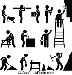 bouwsector, arbeidzaam, arbeid