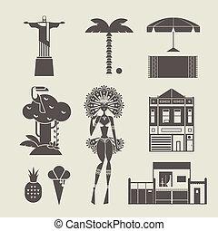 braziliaans, iconen