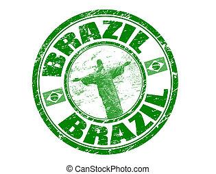 brazilie, postzegel
