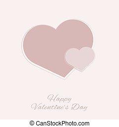 cadeau, dag, kaart, valentine
