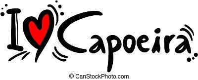 capoeira, liefde