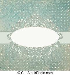 card., ouderwetse , afvalmateriaal, eps, 8, mal