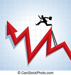 carrière, voortgang, groei, ve, zakelijk