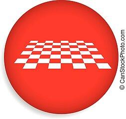 checkered, oppervlakte