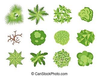communie, ontwerp, tuin, landscaping