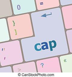 computer, knoop, pet, illustratie, vector, klee, toetsenbord