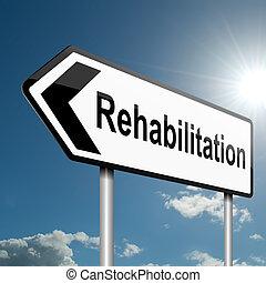 concept., rehabilitatie