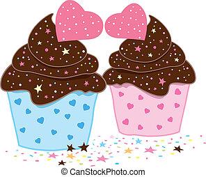 cupcakes, ontwerp