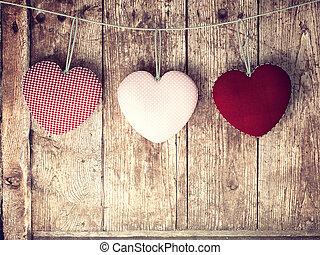 dag, valentines, achtergrond