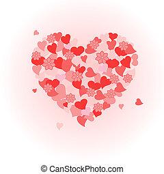 dag, valentine's, hart