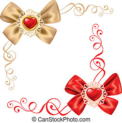 dag, valentines, set