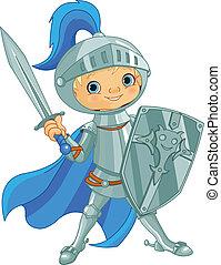 dapper, ridder, vecht