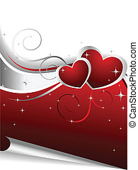 day's, illustratie, valentijn