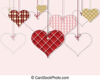 day's, st, begroetende kaart, valentijn