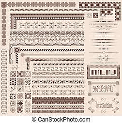 decorative elements, grens