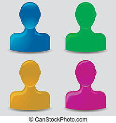 default, profiel, avatar