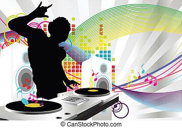 dj, muziek